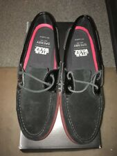 New 9M Star Wars Collection Sperry Top Sider A/O Mens Shoes 2Eye Darth Vader Blk