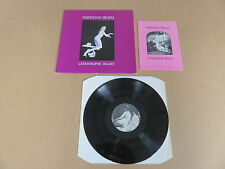 CHRISTIAN DEATH Catastrophe Ballet LP & BOOKLET RARE 1986 ITALIAN 1ST PRESSING