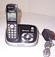 Panasonic KX-TG6533B Dect 6.0 Plus Cordless Phone Answering System 1-Handset