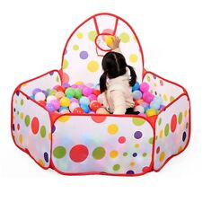 Portable Kids Children Ball Pit Pool Play Tent For Baby Indoor Outdoor Game Toy