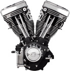 S&S Engine, V111, 585 Cam, WBlack, Cast, Harley Davidson EVO 1984 1999