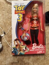 Toy Story 3 Barbie Loves Woody