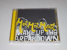 Make Up the Breakdown by Hot Hot Heat (CD, Oct-2002)