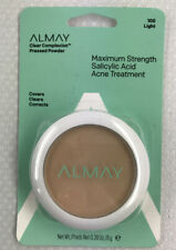 ALMAY Clear Complexion Pressed Powder w/ Acne Treatment - Light 100 - 0.28 oz.