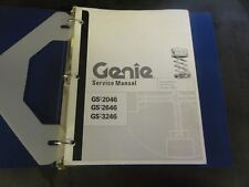 Genie Industries Lift GS-2046 GS-2646 GS-3246 Scissor Lift Service Manual