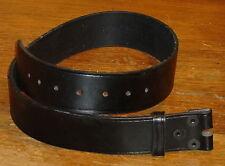 Authentic Us Military Police Leather Duty Belt Size 34 Stone Belt Arc
