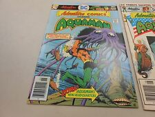 Adventure Comics lot of 2! #'s 445 and 446! (1976, DC)! FN/VF7.0 and VF8.0! LOOK