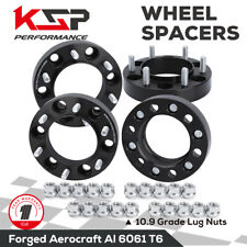 4x 1.25'' Wheel Spacers 6x5.5 139.7mm 12x1.5 HubCentric 106mm for Tacoma Tundra