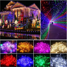 Waterproof 10M 100LED Christmas Tree Fairy String Wedding Party Lights Lamp Xmas