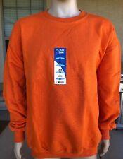 NWT Vintage Pluma Russell Athletic Blank Orange Crewneck Sweatshirt Size 2XL
