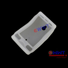 for Sony Ericsson SK17 SK17a SK17i * White Silicone Soft Back Cover Case ZVSF330
