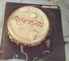 Judas Priest Rocka Rolla 1974 LP, ORIGINAL COVER SUPER RARE only few 1000 sold
