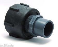 Empalme S60x6 hembra - PVC Hembra 32/40 para tanque de 1000 litros eau lluvia