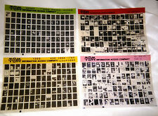 50 Pieces of Vintage Microfiche ~Pinterest Crafts, Altered Art, Collage, Jewelry