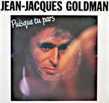 JEAN-JACQUES GOLDMAN puisque tu pars/entre gris clair et gris foncé SP 1988 VG++