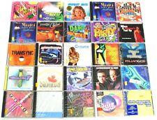50 DANCE CDs WHOLESALE LOT dj,club,house,trance,dub,techno,party music NEW