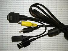 SONY DSC-W70 W80 W90 W100 P100 P200 USB AV MULTI Cable