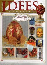IDÉES Magazine N°57H - DÉCORER LES OEUFS