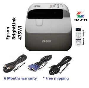 EPSON 475Wi SHORT THROW PROJECTOR (6 Months Warranty)