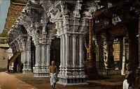 Sidambaram Ostindien India AK ~1910 Säulenhalle Tempel Weltpostverein ungelaufen