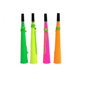 1 x Party Rave Festival Blow Horn Woofer Vuvuzela Assorted Colour
