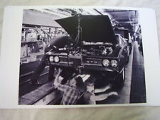 1968   PONTIAC  GTO ON ASSEMBLY LINE    11 X 17  PHOTO  PICTURE