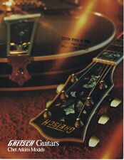 ORIGINAL Vintage 1972 Gretsch Chet Atkins Guitars Catalog