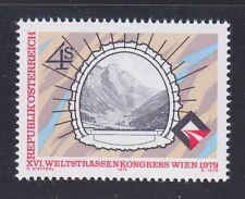 Austria 1979 MNH Mi 1619 Sc 1131 World Road Congress.Alberg Tunnel
