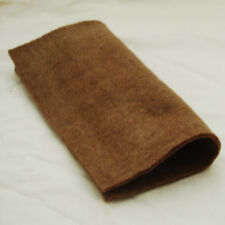 "100% Wool Felt Fabric - Approx 5mm Thick - Handmade - 12"" / 1 Metre Square Sheet"