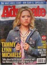 TAMMY LYNN MICHAELS on MELISSA ETHERIDGE March 2005 THE ADVOCATE Mag NEW!