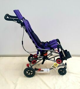 "Convaid Rodeo Tilt-in-space & Recline Stroller Wheelchair 12"" Purple"