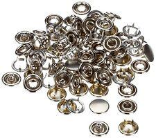 Prym 390 104 boutons pression non-coudre ms recharge pour 390120 capuchon de couleur argentée 1