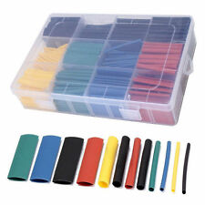 530pcs 2:1Heat Shrink Tube Tubing Sleeving Wrap Wire Assorted Kit 5Color8 Size K