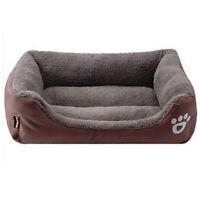 Pet Large Dog Cat Bed Cushion Kennel Mat Warm Sleeping Blanket Pad M/L/XL.