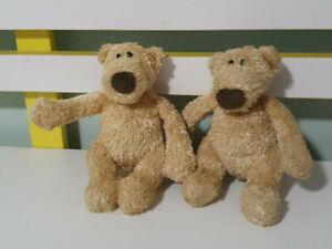 GUND TEDDY BEAR CLANCY SMALL 16CM X2