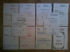 Lot 10 REGISTRATION CARD (Hokuto No Ken 7 / Great Battle II) Super Famicom SFC