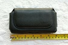 "Pouch for Phone Size: 5.5""x3""x0.5"" Belt Loop Clip  Leather Magnetic Ca"