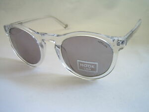 HOOK LDN SUNGLASSES PARKLIFE 26HK002-CLR CRYSTAL FLASH MIRROR GENUINE BNWT