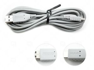Official Nintendo Wii-U Pro Charging Cable USB to Mini USB WUP018 WUP-018 2.5M