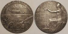 Médaille Ville de Levallois-Perret par René Baudichon, début 20° siècle !!
