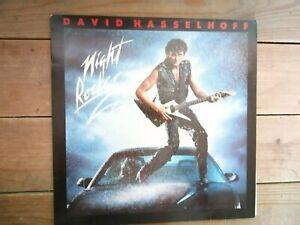 "12"" Vinyl-LP ++ David Hasselhoff - Night Rocker ++ Pop 80er  - Album Vinyl MINT"