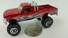 Matchbox Ford F-150 4x4 Pickup Monster Truck 1993 Rugged Riders Red White & Blue