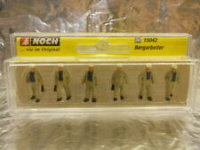 ** Noch 15042 Miners (6 figures in the pack) Figure Set 1:87 HO Scale