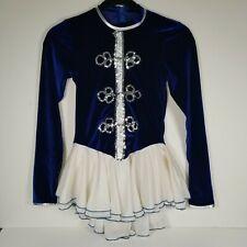 New ListingIce skating dress Blue Competition Figure Skating Dress /Baton Twirling Costume