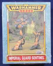 Warhammer 40K: Imperial Guard- Sentinel **Long Out of Print** (Metal) G52