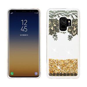 Samsung Galaxy S9 Luxury Bling Liquid Glitter Case, Quicksand Cover