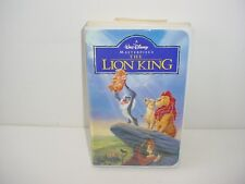 The Lion King Walt Disney VHS Video Tape Movie