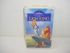 The Lion King Walt Disney VHS Video Tape Movie