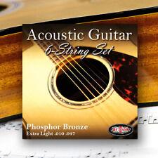 Adagio Pro Acoustic 12 Gauge Guitar Strings - Pack of 3