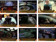 Skybox, 2000 Star Trek Cinema 2000 Trading Card Chase Set AW01-AW09